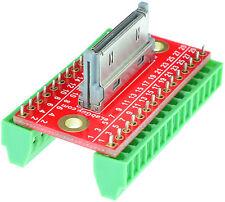 Apple 30-pin Male Connector breakout board eLabGuy APPLE-30M-BO-V1AV, Arduino