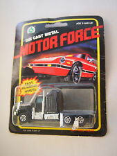 Vintage 1980's Motor Force Die-Cast Metal Fast Running Wheel Sleeper Tractor
