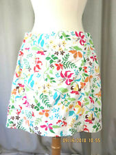 WHITE STAG SZ 6 NWOT Cotton/Spandex Pull-On Skort Shorts With Look of a Skirt