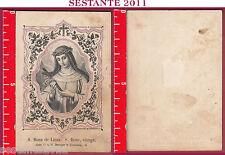 2253 SANTINO HOLY CARD S. SANTA ROSA DE LIMA ROSE VIERGE VERGINE EINSIEDELN