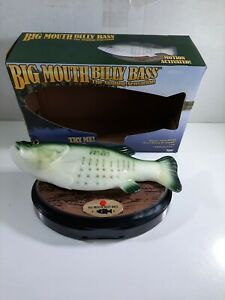 Big Mouth Billy Bass Motion Activated Singing Sensation Fish Gemmy w/Box