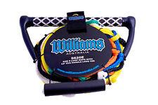 Williams 5 Loop Ski Rope - Eva Handle - Long V