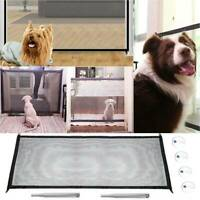 Pet* Dog Puppy Guard Gate Barrier Safety Enclosure Mesh Fence Folding Net Stair