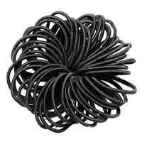 Black & Colourful Bobbles Hair Accessories Elastic Head Band Snag Free Soft Bright In Colour Clothing, Shoes & Accessories