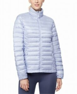 32 Degrees Women's Jacket Blue Size Large L Puffer Down Packable $100 227