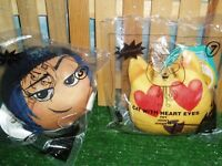 EMOJI MOVIE HAPPY MEAL TOYS #5 & #7 (LOT OF TWO)