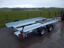 Car Transporter Trailer Hire - Essex - Ifor Williams CT136HD Capacity 2800 Kgs