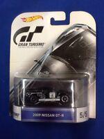 2016 Retro Hot Wheels Gran Turismo #5 2009 Nissan GT-R