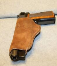 Bianchi Small Frame Autos  Natural Suede Holster