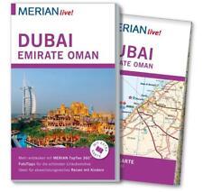 REISEFÜHRER DUBAI EMIRATE OMAN 2015/16 MERIAN live +LANDKARTE; UNGELESEN wie neu