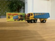 Matchbox Superfast Articulared Truck Mint With Box