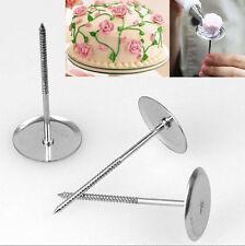 New DIY Piping Flower Nail Icing Bake Cake Decorating Cupcake Pastry Tools