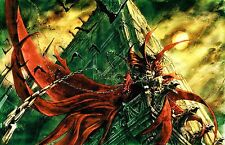 Spawn - Huge Wall  Poster  22in x 34in ( Fast Shipping ) 121