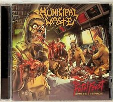Municipal Waste -The Fatal Feast, Waste In Space CD -2012 (Thrash/Speed Metal)