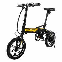Swagcycle EB5 PRO Plus Folding Electric Bike eBike w/ Removable Battery & Pedals