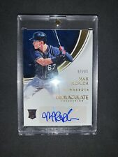 Max Kepler 2016 Panini Immaculate Autograph Gold #/49 Rookie Card.