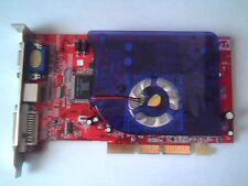 ATI AGP Video Card R9200-128DV (V1.0) Radeon 9200 Rex 128M DVI Rage Theater