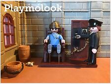SILLA ELÉCTRICA Electric chair CUSTOM ACCESORIOS FIGURAS PLAYMOBIL NO INCLUIDAS