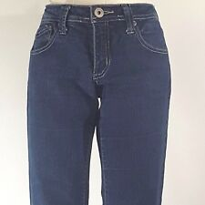 Highway Juniors Jeans Size 7  Dark Blue Wash Straight Leg 5 Pocket