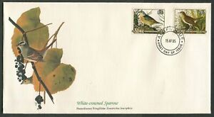 NIUE - 1985 'WHITE-CROWNED SPARROW' First Day Cover [C3256]