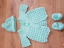 Baby girl  designer knitting pattern  0-6mths /'Evie/' *free postage*