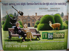 I'LL BE THERE QUAD FILM POSTER
