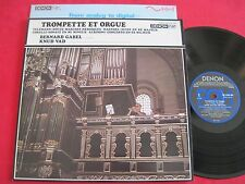 NM AUDIOPHILE LP - TROMPETTE ET ORGUE BERNARD GABEL KNUD VAD DENON DIGITAL JAPAN