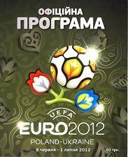 EURO 2012 Official Tournament Brochure - in Ukrainian
