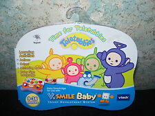 VTech VSmile Baby Time for Teletubbies Cartridge NIP