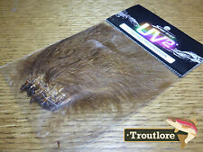 Spirit River Uv2 Medium Brown Marabou Blood Quills Strung Fly Tying Feathers