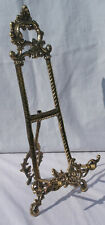 Large Decorative brass picture easel