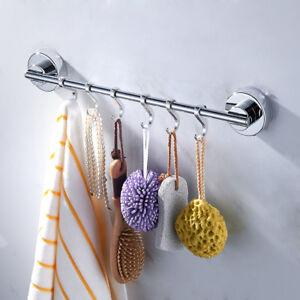 Kitchen Hook Mug Cup Holder Under Shelf Hanger Cupboard Storage Rack 6 Hooks