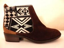 DESIGUAL - BOTTINES - BOOTS - NAVAJO BOHO - POINTURE 38 - AUTHENTIQUE