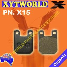 "REAR Brake Pads PEUGEOT XPS 50 Track 21"" F/Wheel 2011 2012"