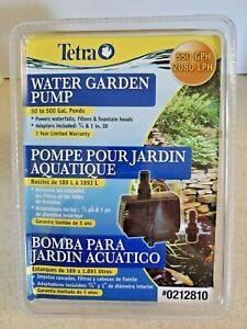 Tetra Pond WGP550 Water Garden Pump, 550 GPH