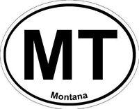 Oval (Montana); State Bumper Sticker