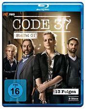 2 Blu-rays  *  CODE 37 - STAFFEL / SEASON 1 - zdf_neo  # NEU OVP &