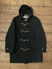 Gloverall Charcoal Grey Duffle Coat Vintage 90s UK40-42 VGC Made In England