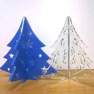 Mini Christmas Tree Table Decoration Centre Piece Display Xmas