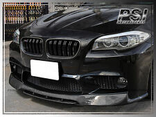 V Style Carbon Fiber Front Bumper Add On Lip 2PCS For 2012-2016  BMW F10 M5