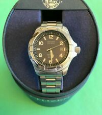 Men's Citizen GN-4W-UL Stainless Steel Eco-Drive Military Watch