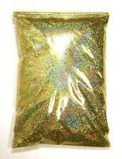 "15oz / 444ml Gold Jewels Holographic Metal Flake .015"" Holo Bulk Paint Additive"