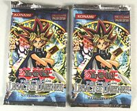 2 Pack Lot/Yugioh Legacy Of Darkness/ Engliish Edition Booster Pack/Fact. Sealed