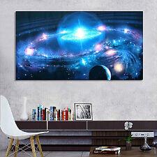 109cmx61cm UNIVERSO estrellas Galaxia * Espacio Tejido Seda Tela Póster oficina