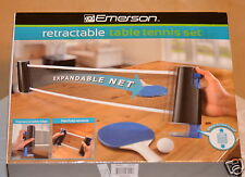 Table Tennis Set Emerson Retractable with Carrying Case