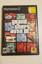 Grand Theft Auto III 3 [PlayStation 2 PS2 GTA Shooting Driving] ROCKSTAR
