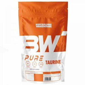 Pure Taurine Pre Workout Powder 250g 500g 1kg Muscle Pump Energy Drink Shake