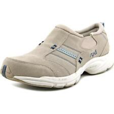 Zapatillas deportivas de mujer de tacón bajo (menos de 2,5 cm) de color principal gris de ante