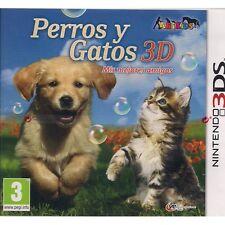 Perros y Gatos 3D (Nintendo 3DS Nuevo)