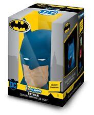 Batman Luz LED Noche Niños Dormitorio portátil cambia de color niño seguro de confort